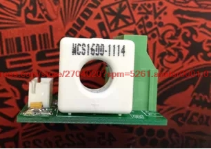 WCS1600 perforation current sensor module linearity 20mV 1A in ABS Sensor from Automobiles Motorcycles