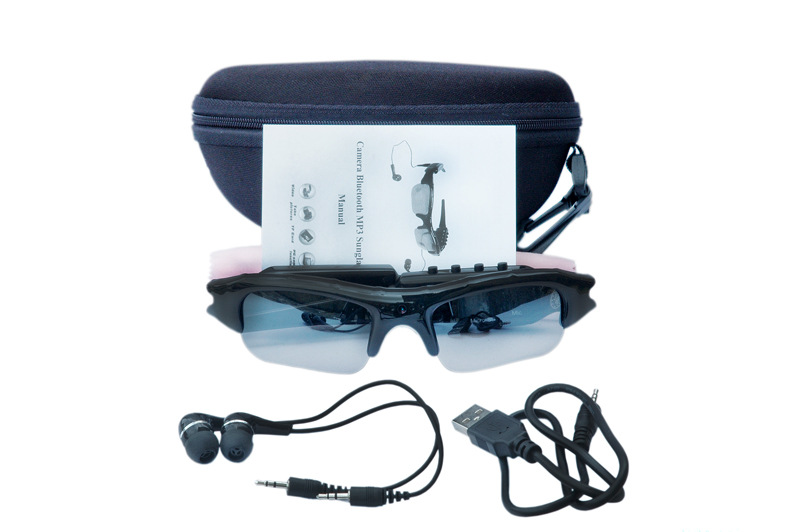 Wear the Glasses video what you see!* i-Kam Xtreme 720p HD Black Video eyeware