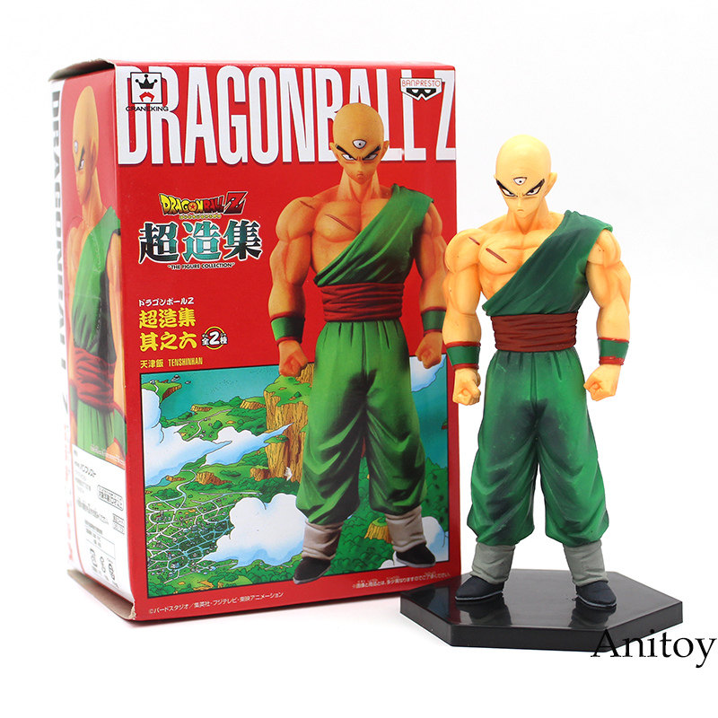 Anime Dragon Ball Z Banpresto Tien Shinhan PVC Figure Collectible Toy with retail box 15cmAnime Dragon Ball Z Banpresto Tien Shinhan PVC Figure Collectible Toy with retail box 15cm