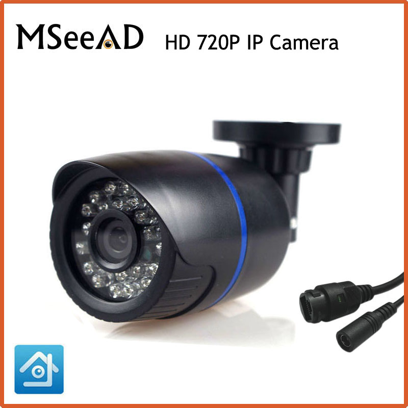 1280*720 1.0MP Bullet IP Camera IR Outdoor Security ONVIF 2.0 Waterproof Night Vision P2P IP Cam IR Cut Filter Megapixel Lens escam 720p hd p2p ip cam bullet outdoor security cctv onvif waterproof camera night vision ir cut filter megapixel 3 6mm lens