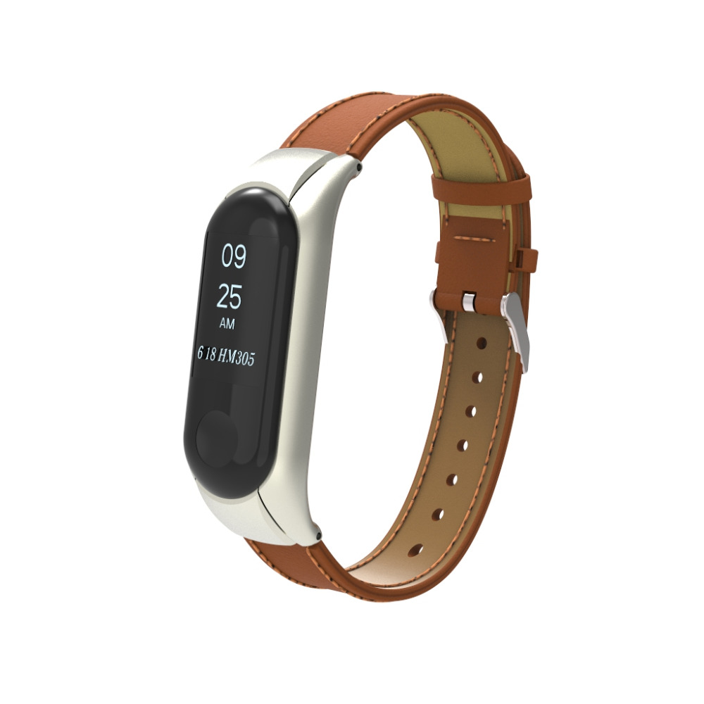 newest Bracelet for Xiaomi Mi Band 3 Strap wristband for xiaomi mi band 3 strap bracelet Miband3 Leather band wristband watch 2018 replacement band strap metal case cover for xiaomi mi band 2 bracelet 0703