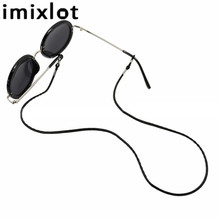 Imixlot Simple Trendy Leather Glasses Rope Eyewear Holder Cord for Women Men Nec