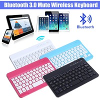 Ultra Slim Wireless Bluetooth 3 0 Keyboard For IPad Tablet PC Smart Phone 59 Keys Universal