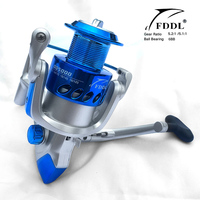 New Arrival Spinning Blue Fishing Reel Distant Fishing Wheel High Quality Spinning Reel 5 2 1