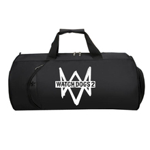 Game Watch Dogs Travel Luggage bag Duffle Bag Multifunctiona