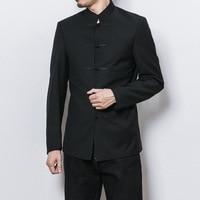 2017 Promotion Blazer Hombre Blazer Men Blaser Masculino The Autumn Wind Coat Collar Tunic Men Jacket Chinese Youth Slim, Suit