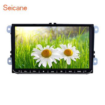Seicane Android 8.1 2Din GPS 9inch Car Multimedia Player for VW/Volkswagen/Golf/Polo/Tiguan/Passat/b7/b6/SEAT/leon/Skoda/Octavia image