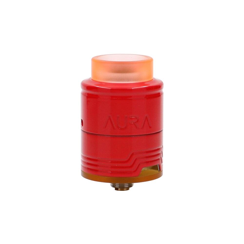 Free gift! Digiflavor Aura RDA Tank Atomizer 1.5ml Build Deck System Deep Reservoir E Cig RDA Tank with Coiling Tool