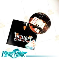 Envelope Prediction Magic Tricks Free Shipping Props Toys Include DVD Close up Street Magia