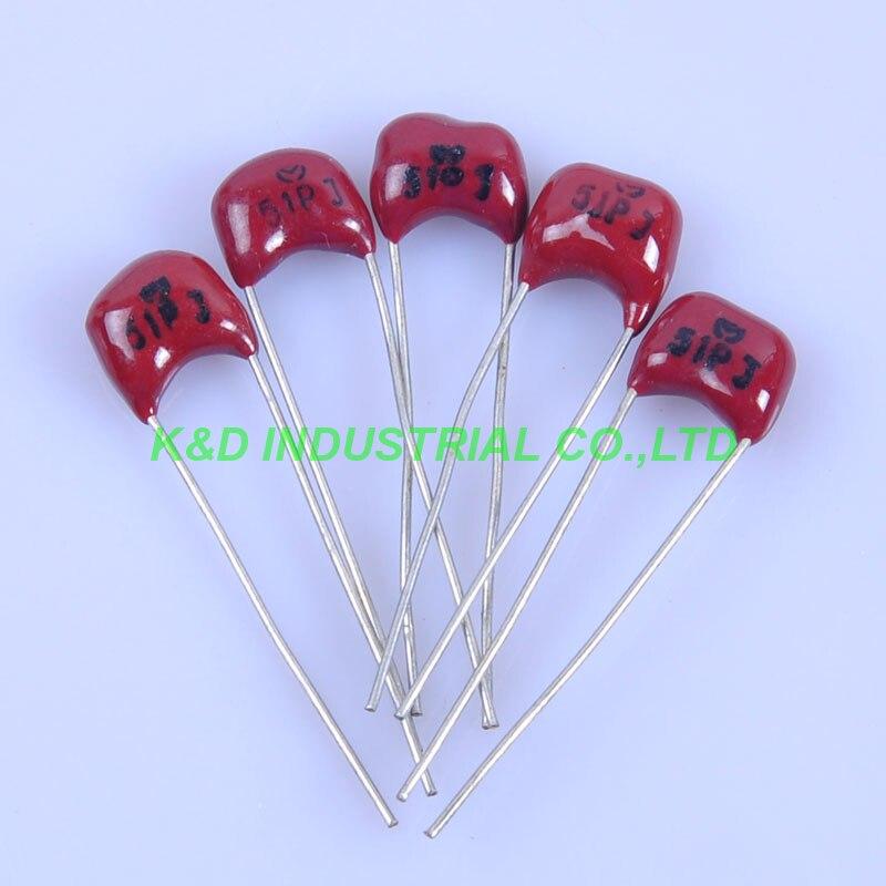 K  50-PCS LOT Silver Mica MICA     51pf  500v