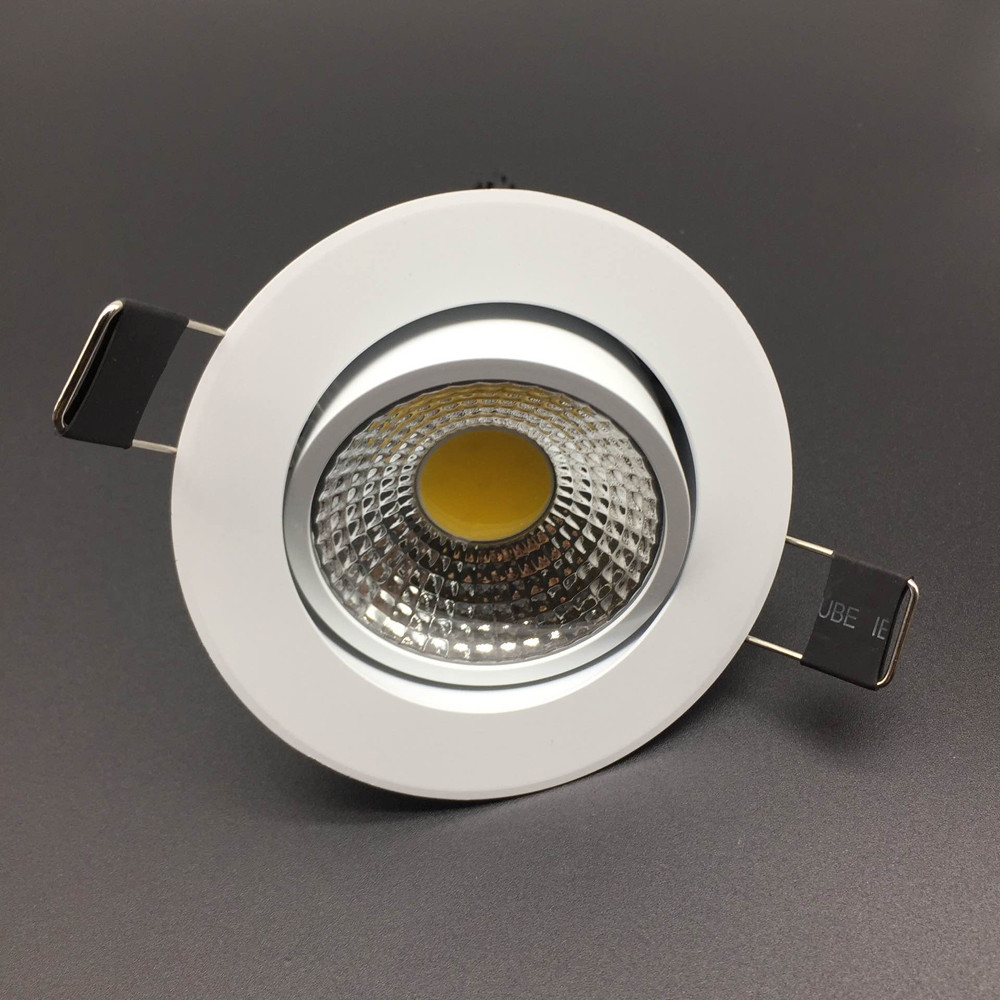 3W COB LED Downlight Recessed Ceiling Spot Down Light Warm White Cold White AC85 265V Driver