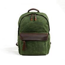 SLR camera bag shoulder backpack canvas waterproof outdoor