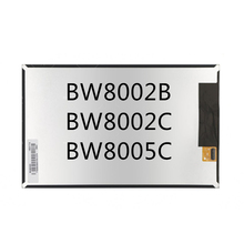 Nuevos auténtico original púrpura mz85 BW8005C pantalla LCD