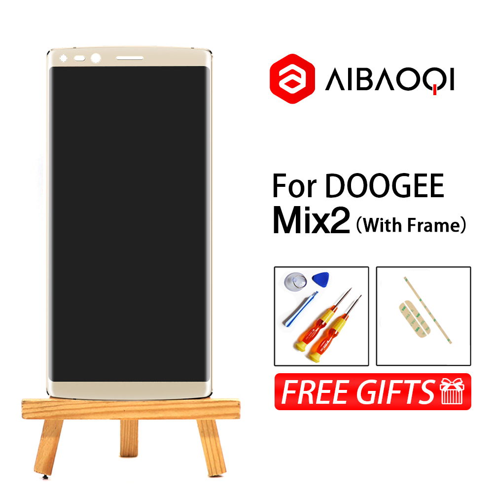 New Original 5 99 inch Touch Screen 2160X1080 LCD Display Frame Assembly Replacement For Doogee MIX