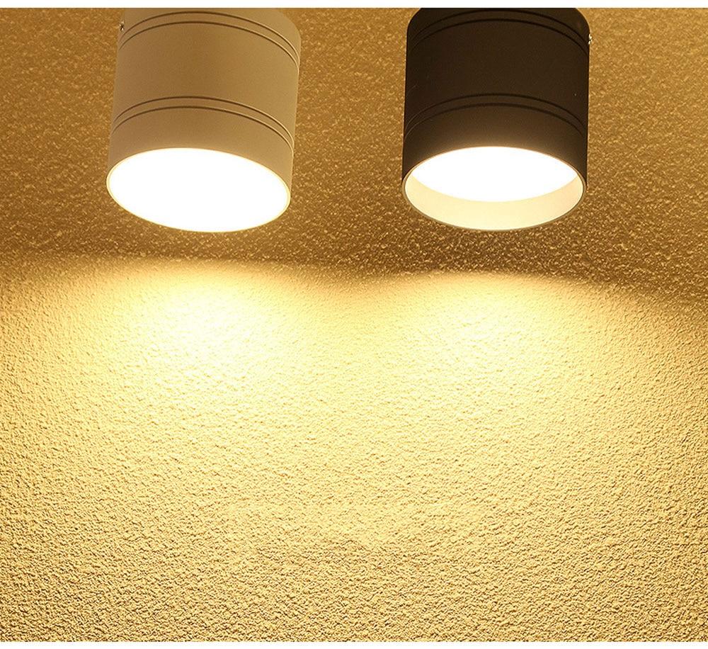 HTB1r61 XtzvK1RkSnfoq6zMwVXaj Dimmable LED Ceiling light down light 18W 15W 9W 6W No opening Ceiling lamps for kitchen,balcony,library,bathroom,shop,Office