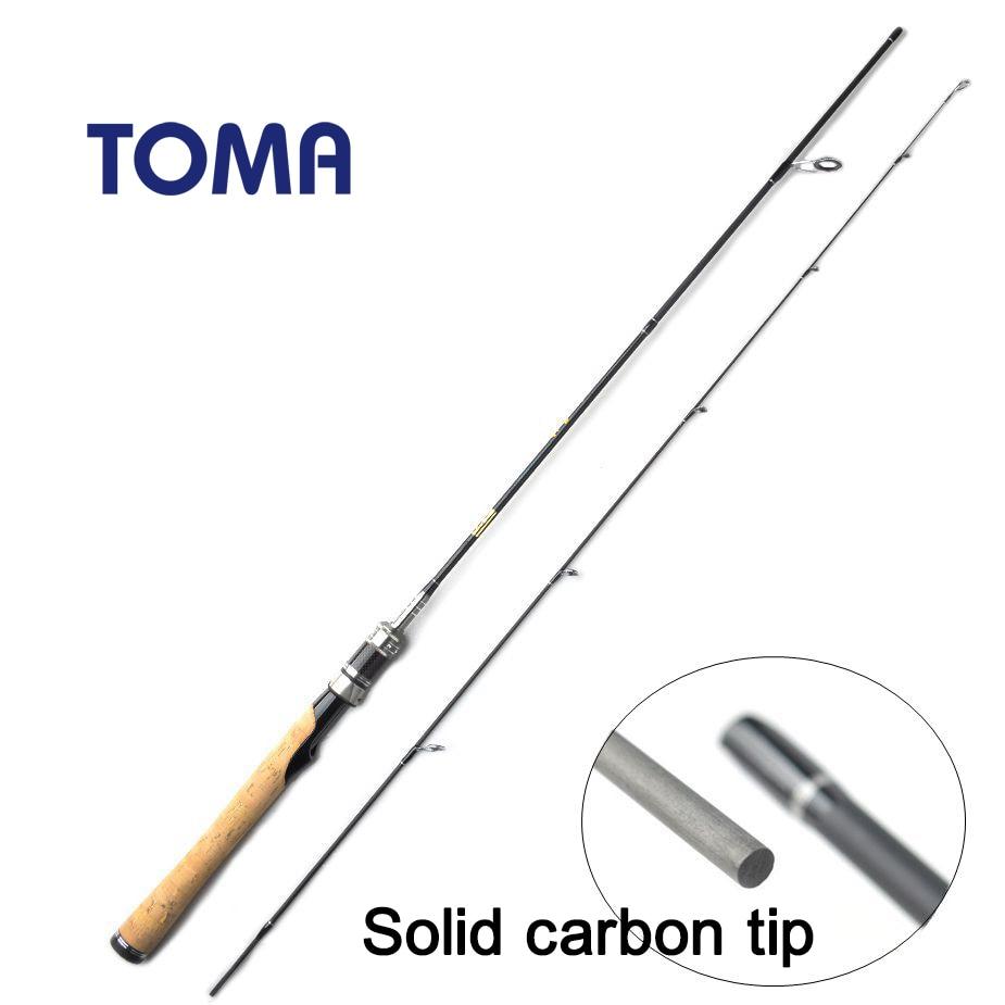 toma 99 carbon fiber spinning fishing rods casting. Black Bedroom Furniture Sets. Home Design Ideas