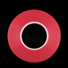 2 мм 50 м Сильный Акриловый Клей Красный Плёнки ясно, двухсторонний Клейкие ленты Стикеры для мобильного телефона ЖК-дисплей панелью Экран дисплея ремонт коснитесь