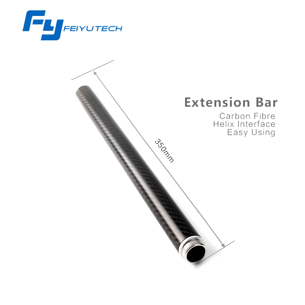 Feiyu Tech Extension bar Carbon pole for G5/SPG/SPG live/G4 Series gimbal Handheld Stabilizer For iPhone GoPro Camera Accessary