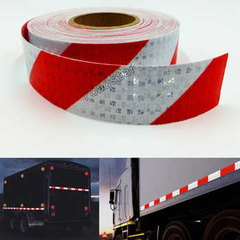 5cmX25m Reflective Tape Stickers Auto Truck Pickup Safety Reflective Material Film Warning Tape Car Styling Decoration - DISCOUNT ITEM  42% OFF All Category