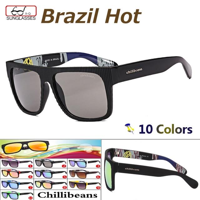 7ad2c93f8f9 2015 Chilli Beans Brand Coating Sunglasses Men Fashion Sport Glasses Women oculos  de sol mormaii zonnebril