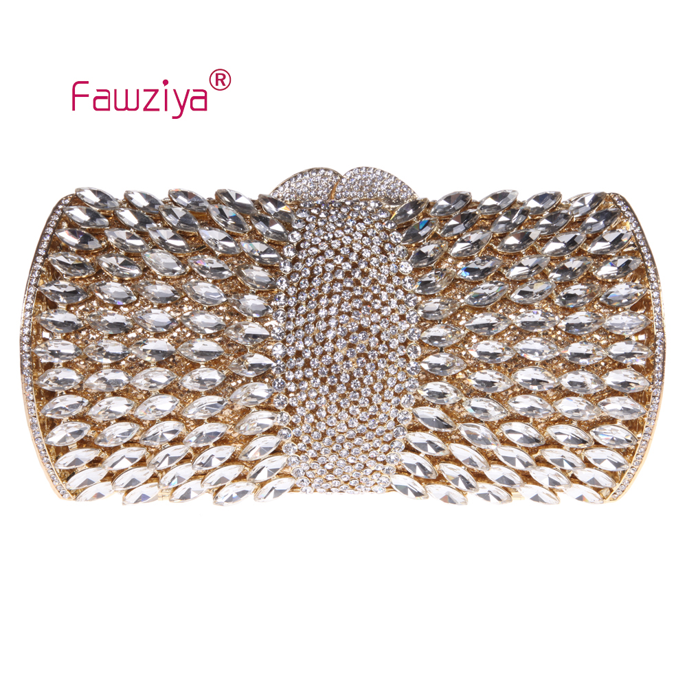 Fawziya Shoulder Bag Women Diamond Purses And Handbags Bling Clutch Evening Bags fawziya apple clutch purses for women rhinestone clutch evening bag