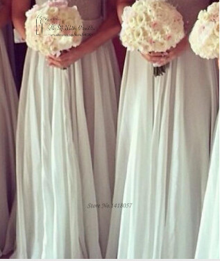 Sage кружевное платье невесты возлюбленная длинное вечернее платье 2016 свадебное Выходное платье Vestido de Festa Longo Casamento Madrinha - 4