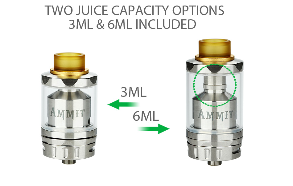 eekVape Ammit RTA Dual Coil Version - 3ml 4