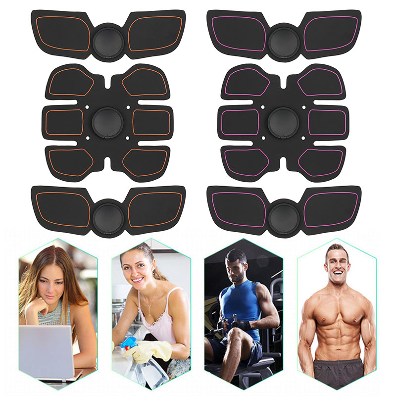 Abdominal Muscle Training Stimulator Device Wireless EMS Belt Gym Professional Body Slimming Massager Home Fitness   Exerciser