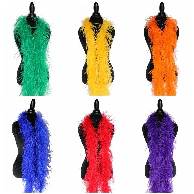 Venta al por mayor 10 metros mullido avestruz pluma boa falda disfraces/adorno para fiesta/disfraz arte avestruz pluma en boda decoraciones-in Pluma from Hogar y Mascotas    1