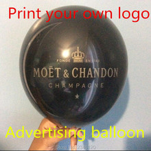 1000pcs Custom  Advertising balloons, print their own logo, 100% latex balloons 2.2g10inch high quality printing