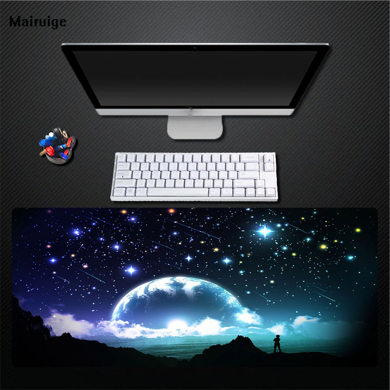 SELCNG Game Mouse Pad Oversized Cute Anime Large Thick Laptop Office Keyboard Table Mat