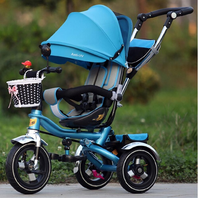 Child stroller wheel tricycle child bicycle baby stroller