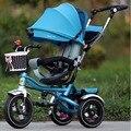 Roda de carrinho de criança triciclo criança bicicleta carrinho de bebê