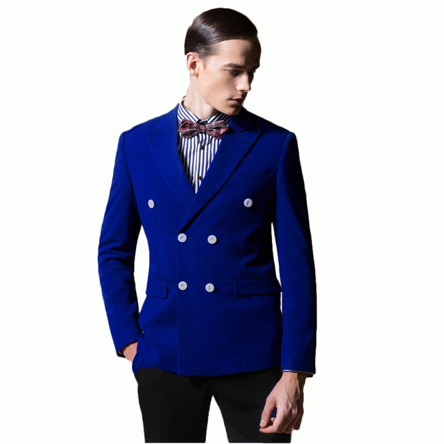 Classic Brand Fashion Mens Wedding Suits Groom 2017 New Arrival Formal Mens Blazers Slim Fit Casual Suits Jacket Pants Size 6XL