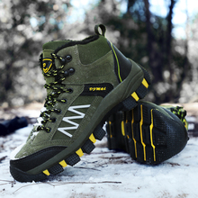 Homass Hiking Boots Non-slip Waterproof Ankle Tactical Boots