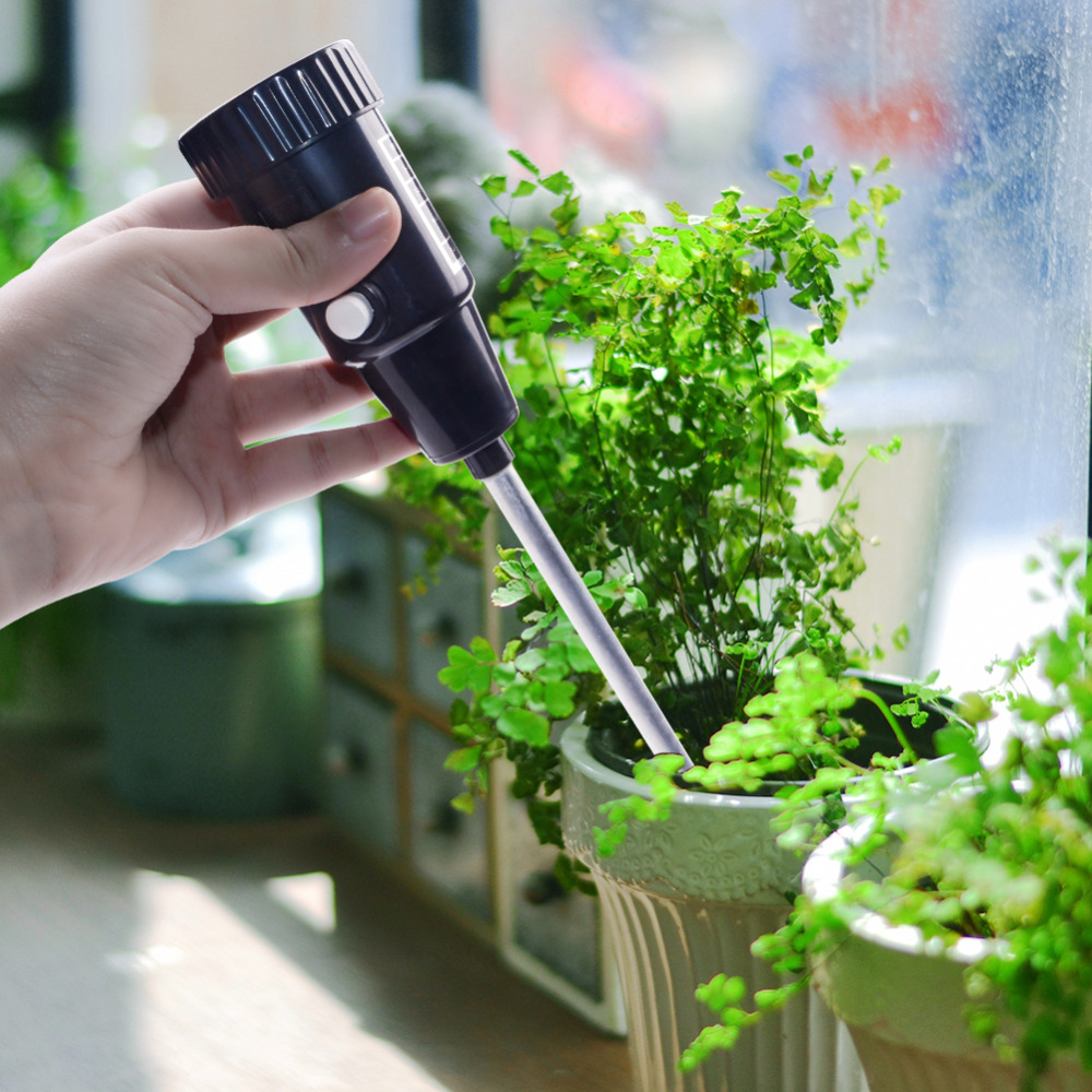все цены на Long Probe Soil Tester Ph PH Soil Test Humidity Tester PH Meter Moisture Value Humidity Flower Pot онлайн