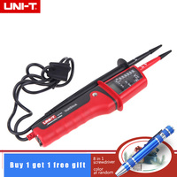 UNI T UT15C 690V LCD Display Waterproof IP65 Type Voltage Testers motorcycle voltimetro voltage meter Tester