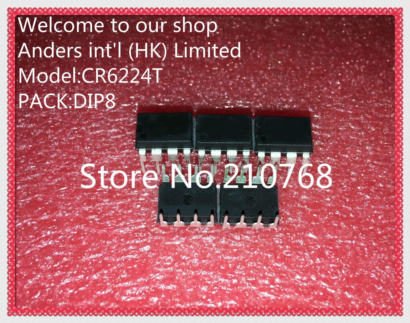 100 NEW ORIGINAL CR6224T CR6224 DIP8