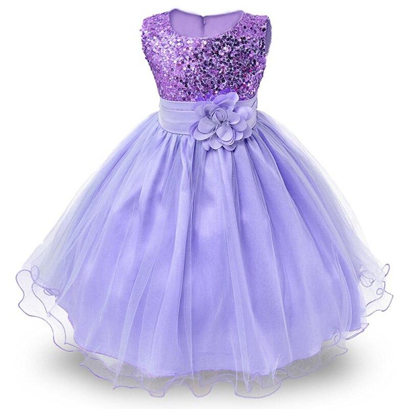 2018 muchachas del verano Sequins Tutu princesa vestido de fiesta ...