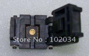 100% NEW QFN48 QFN48PIN IC Test Socket / Programmer Adapter / Burn-in Socket (QFN48-0.5) 100% new sot23 sot23 6 sot23 6l ic test socket programmer adapter burn in socket