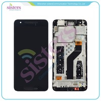 Wholesale LCD Display Touch Screen Digitizer Full Assembly With Frame For Huawei Google Nexus 6P
