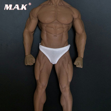 4 Colors 1:6 Scale Male Soldier Underwear Briefs Clothes Fit 12 Seamless muscle male body M34 M35 Body