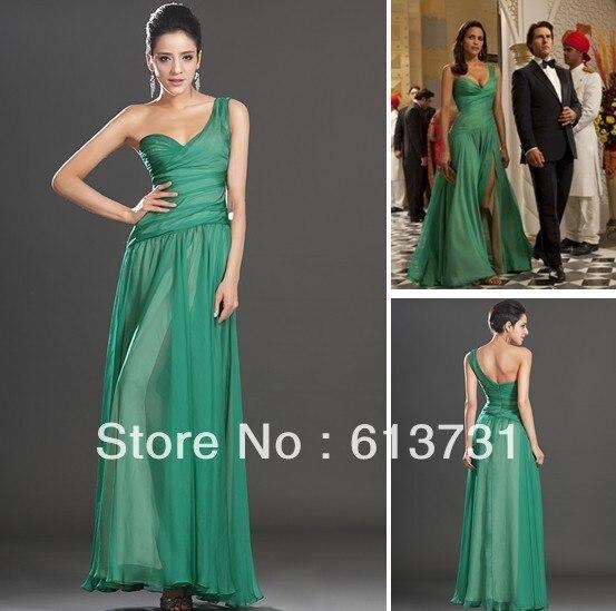 Vestido verde mision imposible 4