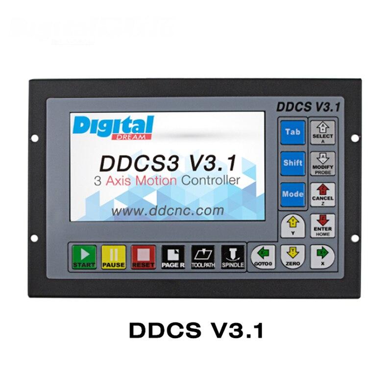 new Mach3 offline motion controller engraving machine controller CNC machine control DDCSV3 1 16 channel optocoupler