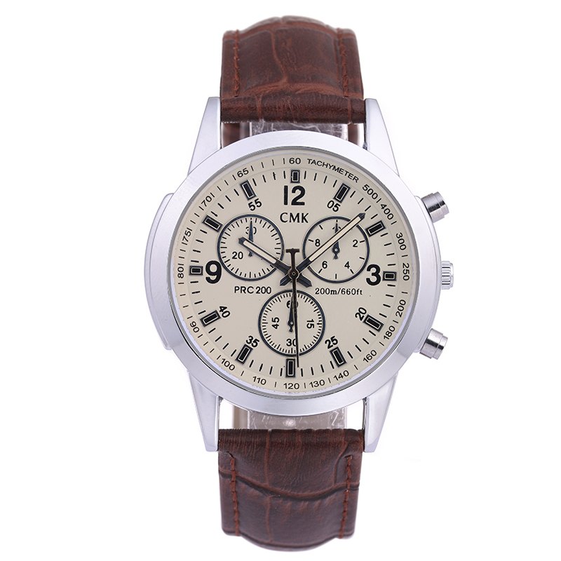 CMK Fashion quartz Watches Men army Casual Watch Top Brand leather male wristwatch Men Sports clock hours Relogio Masculino mens watch top luxury brand fashion hollow clock male casual sport wristwatch men pirate skull style quartz watch reloj homber