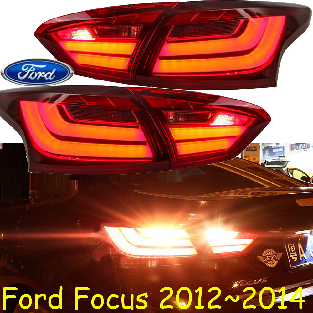 Focu taillight,Sedan/Hatch-back car,2012~2014,Free ship!sedan:4pcs/set,hatch-back:2pcs/set,focu rear light,Ecosport,Kuga