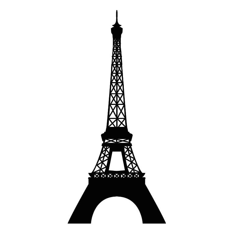 эйфелева башня наклейка с доставкой из России