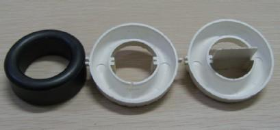 Precision spare parts for electronic case,made of ABS material