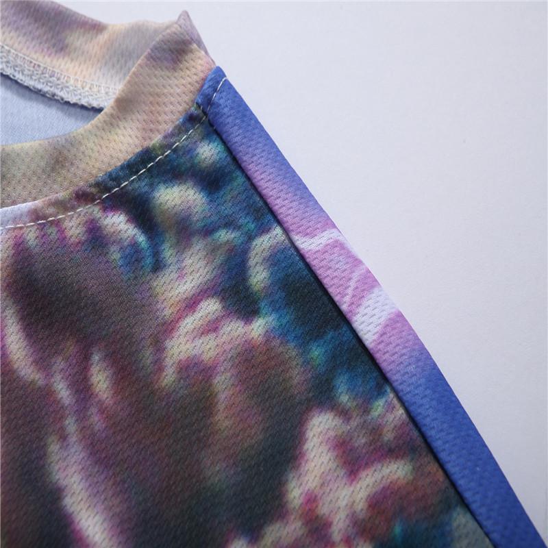12 Color 3d print Lightning cat t shirt 2