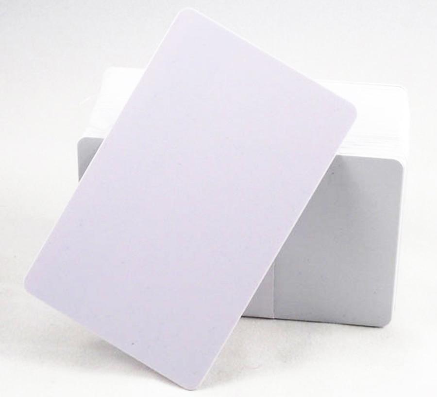 100 pièces 13.56 Mhz Imprimable À Jet D'encre PVC carte à PUCE NTAG215 pour Tagmo pour imprimante Epson, Canon imprimante